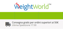Offerte di WeightWorld nella volantino di Roma