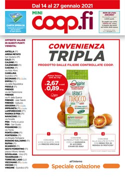 Catalogo Coop a Firenze ( Per altri 2 giorni )