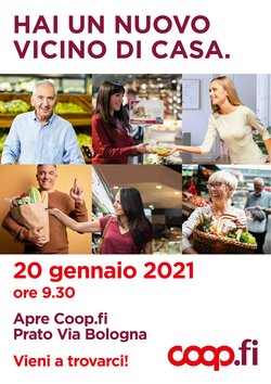 Catalogo Coop a Firenze ( Per altri 5 giorni )