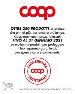Catalogo Coop a Treviso ( Pubblicato ieri )