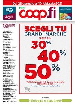 Catalogo Coop a Viareggio ( Pubblicato ieri )
