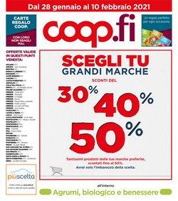 Catalogo Coop a Firenze ( Pubblicato oggi )