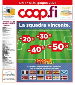 Catalogo Coop ( Pubblicato ieri)