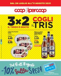 Offerte di Iper Supermercati nella volantino di Coop ( Pubblicato ieri)