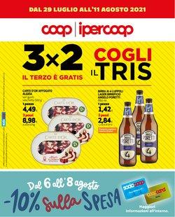 Offerte di Iper Supermercati nella volantino di Coop ( Pubblicato oggi)