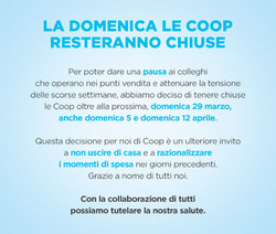 Coupon Coop a Pistoia ( 3  gg pubblicati )