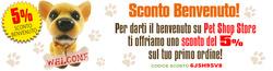 Coupon Pet Shop Store a Aprilia ( Per altri 4 giorni )