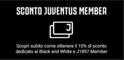 Offerte di Juve Store nella volantino di Roma