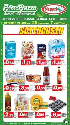 Offerte Discount nella volantino di Primo Prezzo a Lecco ( Per altri 2 giorni )
