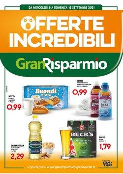 Offerte di Iper Supermercati nella volantino di Gran Risparmio ( Scade oggi)