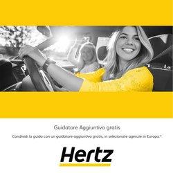 Offerte di Hertz nella volantino di Hertz ( Per altri 23 giorni)