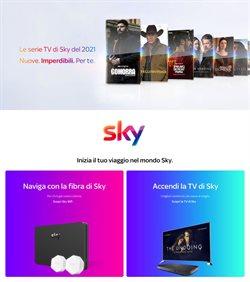 Offerte Elettronica e Informatica nella volantino di Sky a Trapani ( Scade domani )