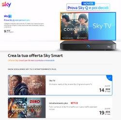 Offerte di Sky nella volantino di Sky ( Per altri 9 giorni)