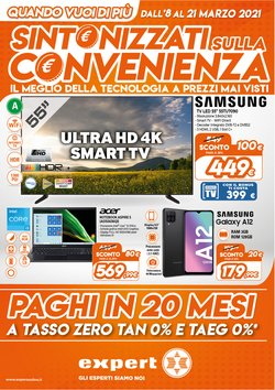 Offerte Elettronica e Informatica nella volantino di Mallardo Expert a Napoli ( Pubblicato ieri )