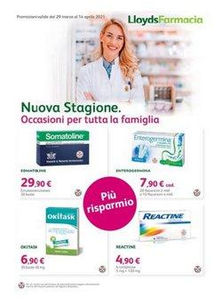 Offerte Salute e Ottica nella volantino di Farmacia Comunale a Milazzo ( Scade domani )