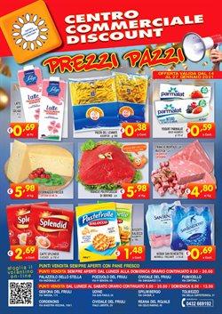 Offerte Discount nella volantino di Centro Commerciale Discount a Fiume Veneto ( Per altri 3 giorni )