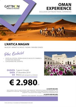 Catalogo Gattinoni Travel Network a Alba ( Scaduto )