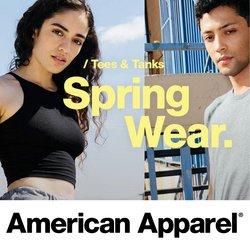 Offerte Abbigliamento, Scarpe e Accessori nella volantino di American Apparel a Parma ( Pubblicato ieri )