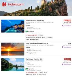 Offerte di Viaggi nella volantino di Hotels.com ( Per altri 3 giorni)