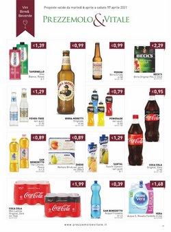 Offerte di Coca-Cola a Prezzemolo e Vitale