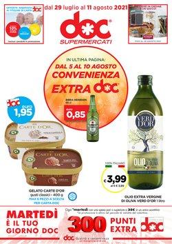 Offerte di Doc Supermercati nella volantino di Doc Supermercati ( Pubblicato oggi)