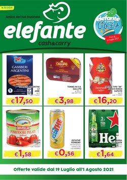 Offerte di Elefante Cash & Carry nella volantino di Elefante Cash & Carry ( Per altri 5 giorni)
