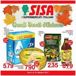 Offerte di Gisa Supermercati nella volantino di Misterbianco