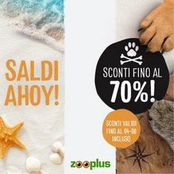 Offerte di Animali nella volantino di Zooplus ( Pubblicato ieri)