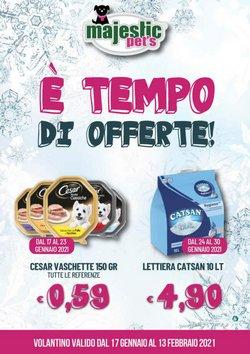Offerte Animali nella volantino di Majestic Pet's a Guidonia Montecelio ( 2  gg pubblicati )