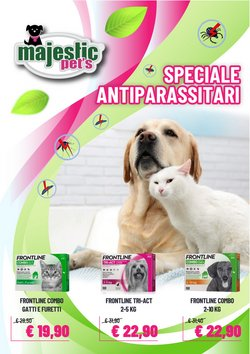 Offerte di Animali nella volantino di Majestic Pet's ( Per altri 2 giorni)