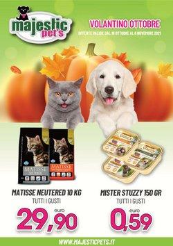 Offerte di Animali nella volantino di Majestic Pet's ( Pubblicato ieri)