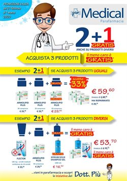 Catalogo Parafarmacia Più Medical a Gallarate ( Per altri 3 giorni )