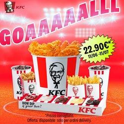 Offerte di Ristoranti nella volantino di KFC ( Per altri 6 giorni)