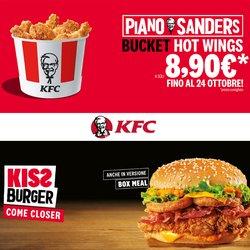 Offerte di Ristoranti nella volantino di KFC ( Per altri 4 giorni)