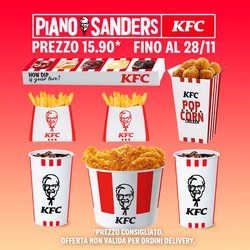 Offerte di Ristoranti nella volantino di KFC ( Più di un mese)