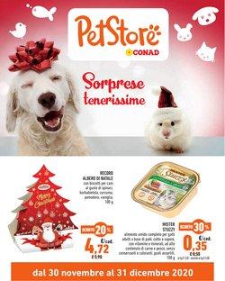 Offerte Animali nella volantino di Pet Store Conad a Sarzana ( Per altri 27 giorni )