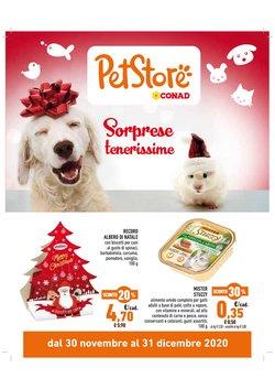 Offerte Animali nella volantino di Pet Store Conad a Tavagnacco ( Pubblicato ieri )