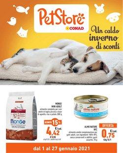 Offerte Animali nella volantino di Pet Store Conad a Nichelino ( Per altri 3 giorni )