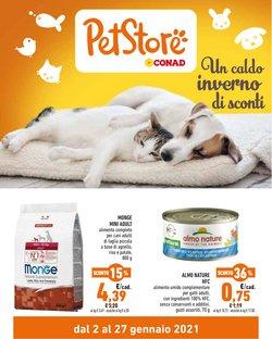Offerte Animali nella volantino di Pet Store Conad a Forlì ( Scade oggi )
