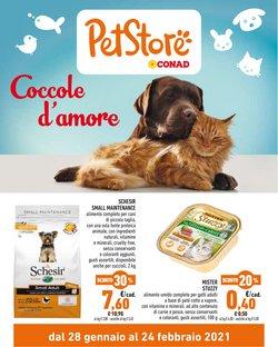 Offerte Animali nella volantino di Pet Store Conad a Forlì ( Pubblicato oggi )