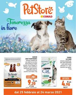 Offerte Animali nella volantino di Pet Store Conad a Bologna ( Per altri 25 giorni )
