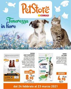 Offerte Animali nella volantino di Pet Store Conad a Napoli ( Per altri 3 giorni )