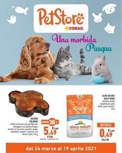 Offerte Animali nella volantino di Pet Store Conad a Parma ( Per altri 6 giorni )