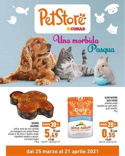 Offerte Animali nella volantino di Pet Store Conad a Lissone ( Per altri 5 giorni )