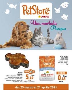 Offerte Animali nella volantino di Pet Store Conad a La Spezia ( Per altri 6 giorni )