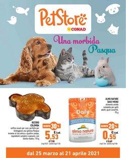 Offerte Animali nella volantino di Pet Store Conad a San Giovanni Lupatoto ( Per altri 3 giorni )