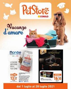 Offerte di Animali nella volantino di Pet Store Conad ( Scade domani)