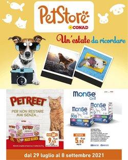 Offerte di Animali nella volantino di Pet Store Conad ( Per altri 8 giorni)