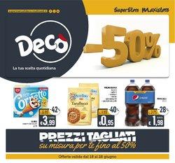 Offerte di Iper Supermercati nella volantino di Deco Superstore ( Pubblicato ieri)