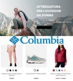 Offerte Sport nella volantino di Columbia a Alcamo ( Scade oggi )